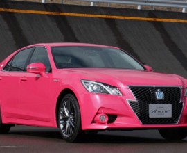 2014 Toyota Crown AWS210 Athlete G Reborn Pink Limited Edition (ID1785)