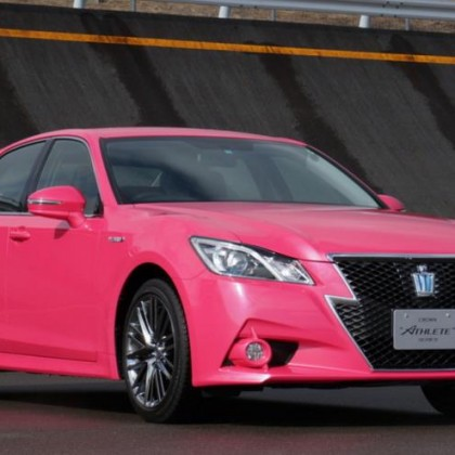 2013 Toyota Crown AWS210 Athlete G Reborn Pink Limited Edition (ID1785)